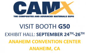 CAMX exhibitor logo for Sept 24-26 2019 exhibition.